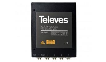 Televes 235901 1х4 FO сплитер FC/PC