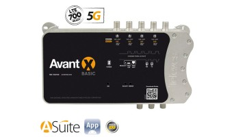 Усилвател Televes Mini Headend AVANT X BASIC 5G LTE, програмируем