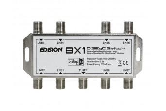 DISEqC ключ EDISION 8x1 с 8 портa