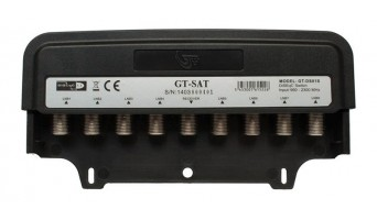 DISEqC ключ GT-SAT GT-81S 8x1 с 8 портa