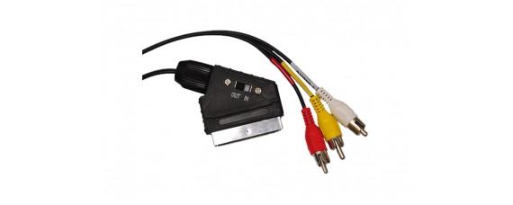 SCART-RCA кабел 1.5m