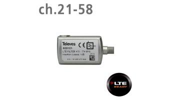 Televes LTE филтър (ch.21-58) F