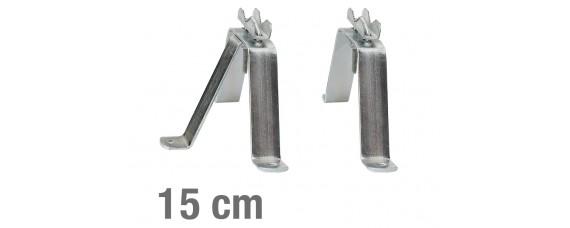 Крепежени елементи за стена, чифт