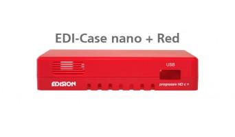 EDI-Case NANO PLUS червена