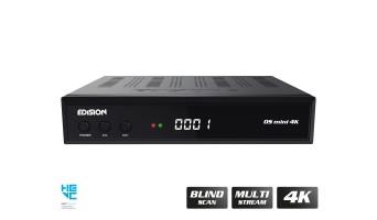 EDISION OS MINI S2X 4K UHD H.265 MULTISTREAM