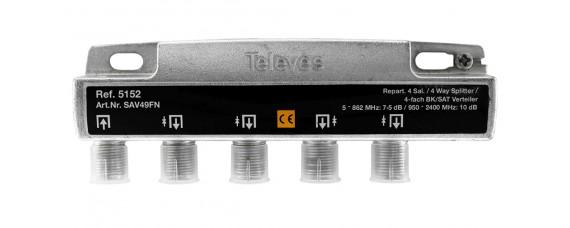 Televes 5152 ВЧ сплитер 4 изхода