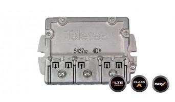 Televes 543702 ВЧ сплитер 4 изхода
