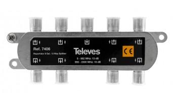 Televes 7406 ВЧ сплитер 8 изхода