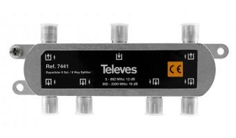 Televes 7441 ВЧ сплитер 6 изхода