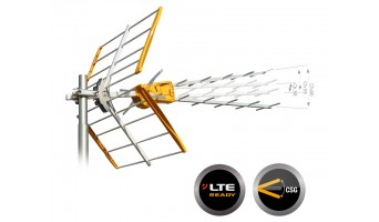 """Televes ефирна антена """"V"""" +15dB UHF"""