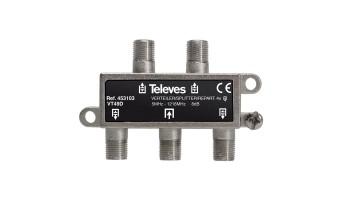 Сплитер с 4 изхода 5-1218Mhz Televes 453103