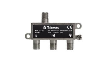 Сплитер с 3 изхода 5-1218Mhz Televes 453203