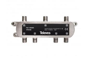 Сплитер с 6 изхода 5-1218Mhz Televes 453403